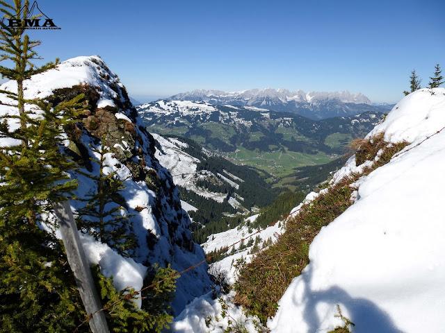 Wanderung von Kirchberg in den kitzbüheler alpen zum Gampenkogel