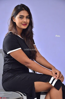 Actress Neha Deshpandey in Black Short Dress ~  Exclusive 008.jpg