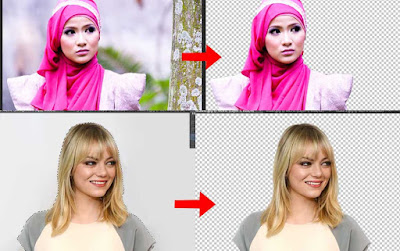 Seleksi foto dengan photoshop