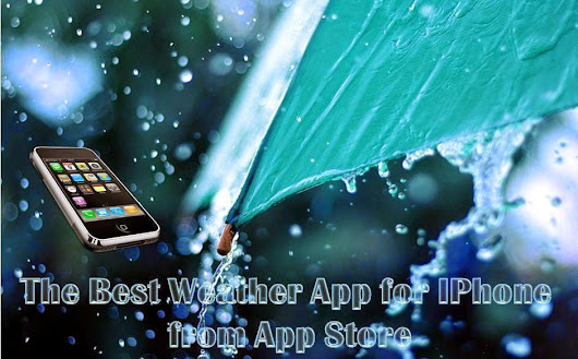 The Best Weather App for IPhone for App Store | Alexas Apps