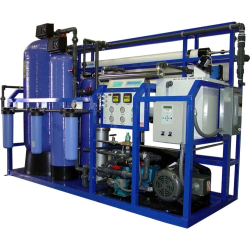 Water Distillation Systems Model ~ Desalination plants coupled with water reservoirs are the