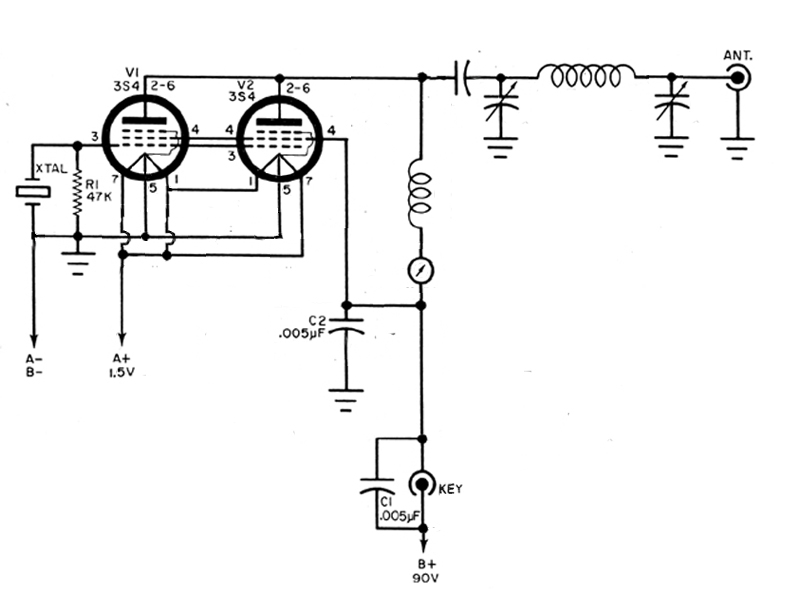 6l6 Transmitter Schematic Pictures To Pin