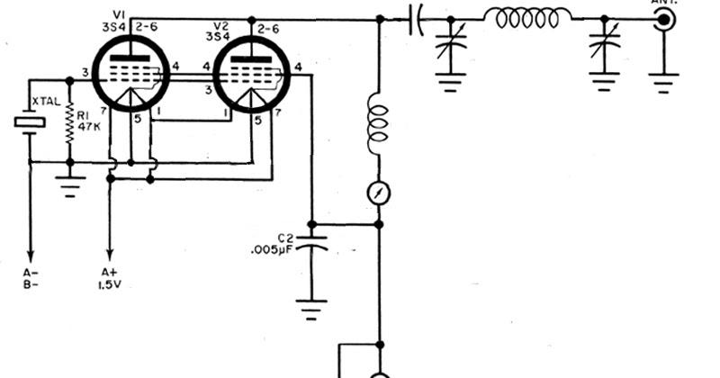 Cq Cq Cq De W0vlz 3s4 X 2 Transmitter The Plan