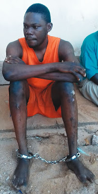 Photo: Hunger Would Have Killed Me If I Didn't Learn How To Rob – Suspect