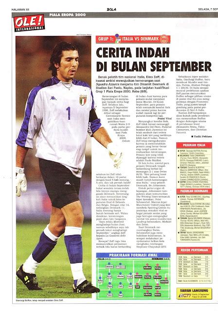 EURO 2000: ITALIA VS DENMARK