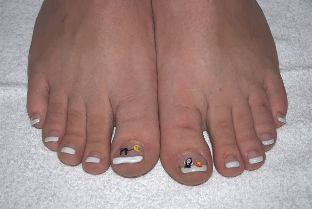 French Tip Toes Nail Designs Nails Ideas