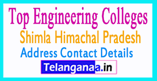 Top Engineering Colleges in Shimla Himachal Pradesh