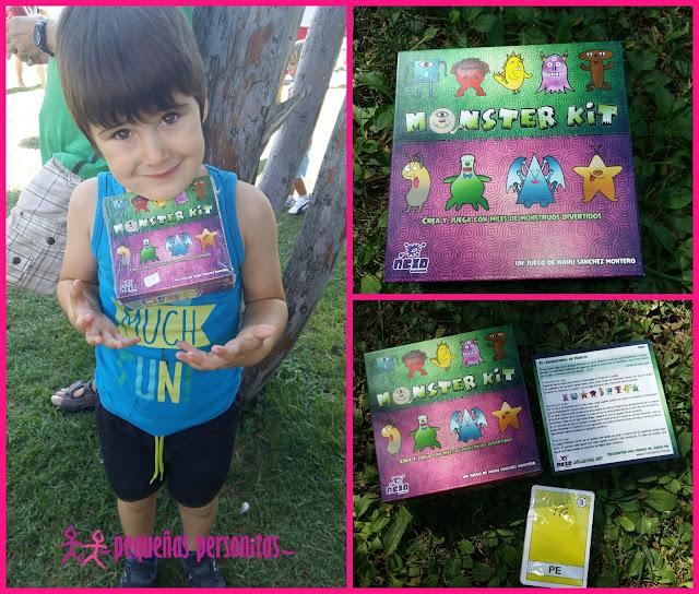 compras, juegos, juego de cartas, monster kit, monstruos, juegos infantiles, estimulacion, creatividad