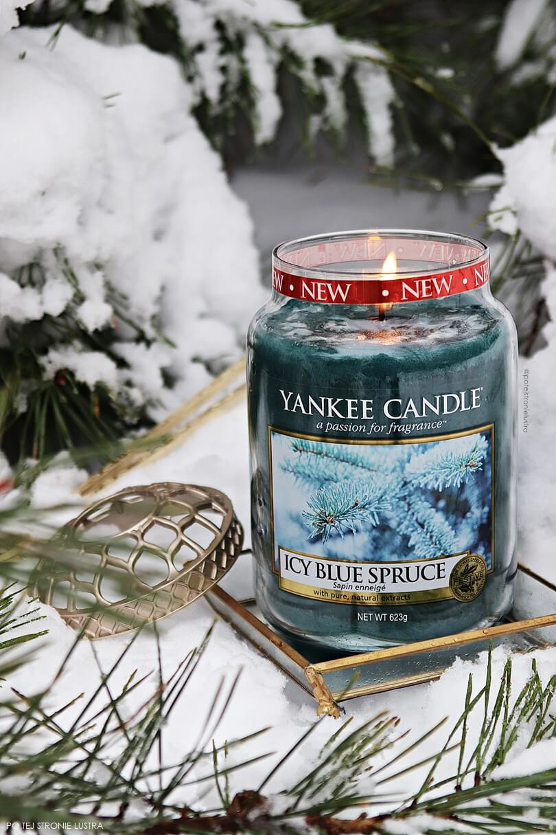 yankee candle icy blue spruce q4 2018