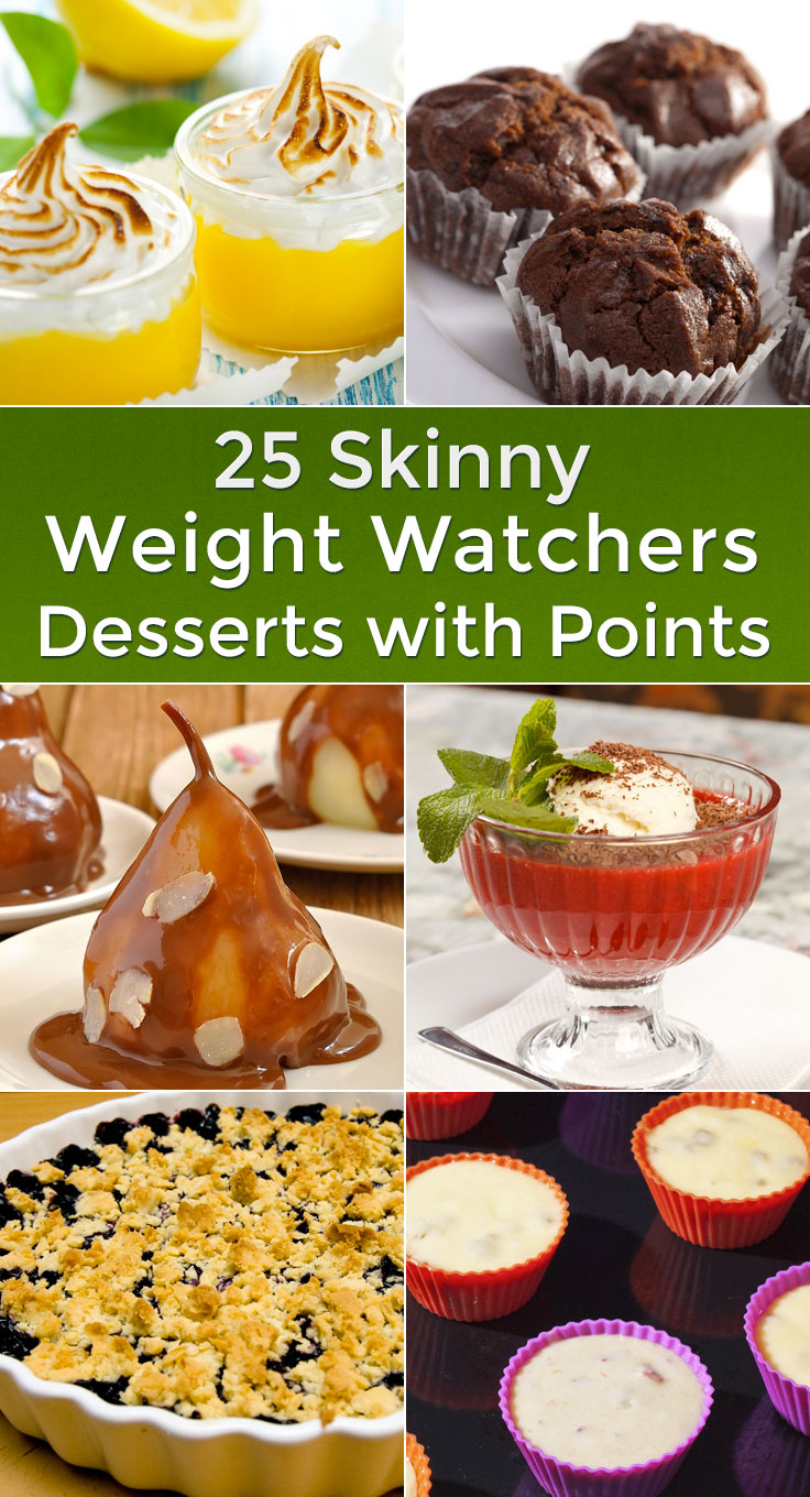 25 Skinny Weight Watchers Desserts with Points