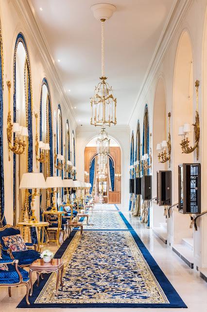 Gallery at renovated Ritz Paris