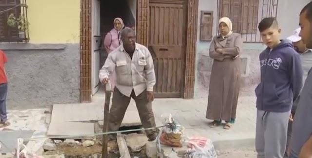 فيديو..عشوائية أشغال إعادة هيكلة شبكة التطهير بالحي الحسني ببرشيد تثير استياء المواطنين