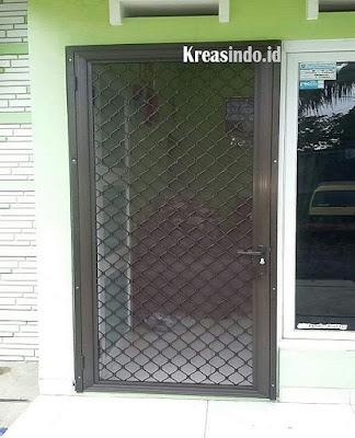 Harga Pintu Expanda atau Pintu Kawat Nyamuk Aluminium Terbaru
