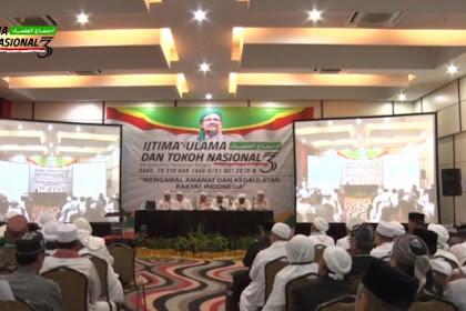 Di Ijtima Ulama III, Ketua GNPF Ulama Sebut Perang Badar Terjadi Saat Ramadhan