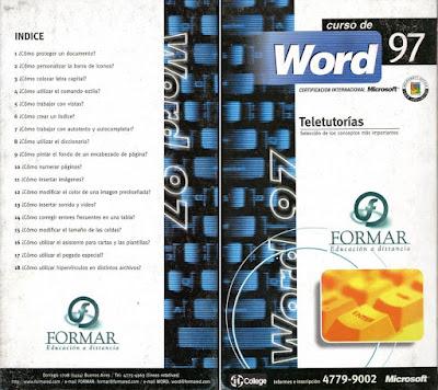 Curso de Word 97 - FORMAR Educación a Distancia