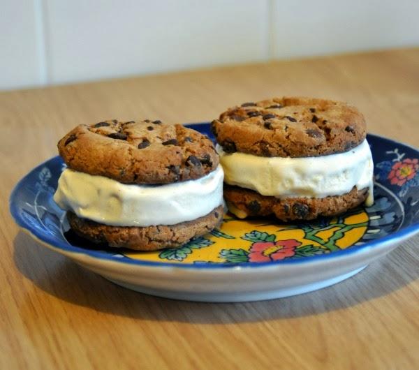 Zelf een Ice Cream Sandwich maken, ijsje met koekjes