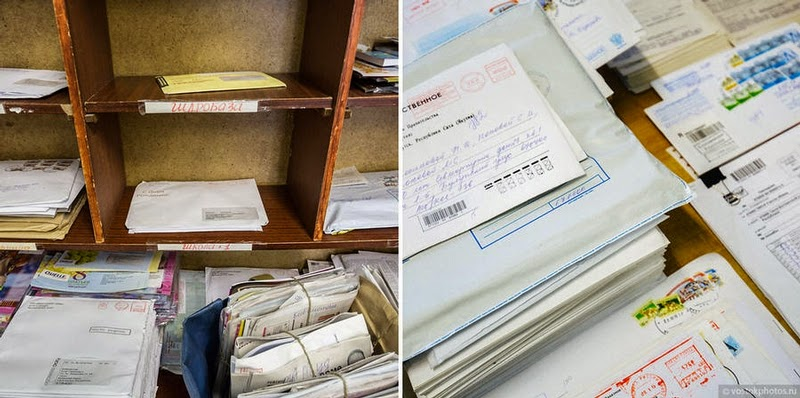 Entrega postal no extremo da Rússia!