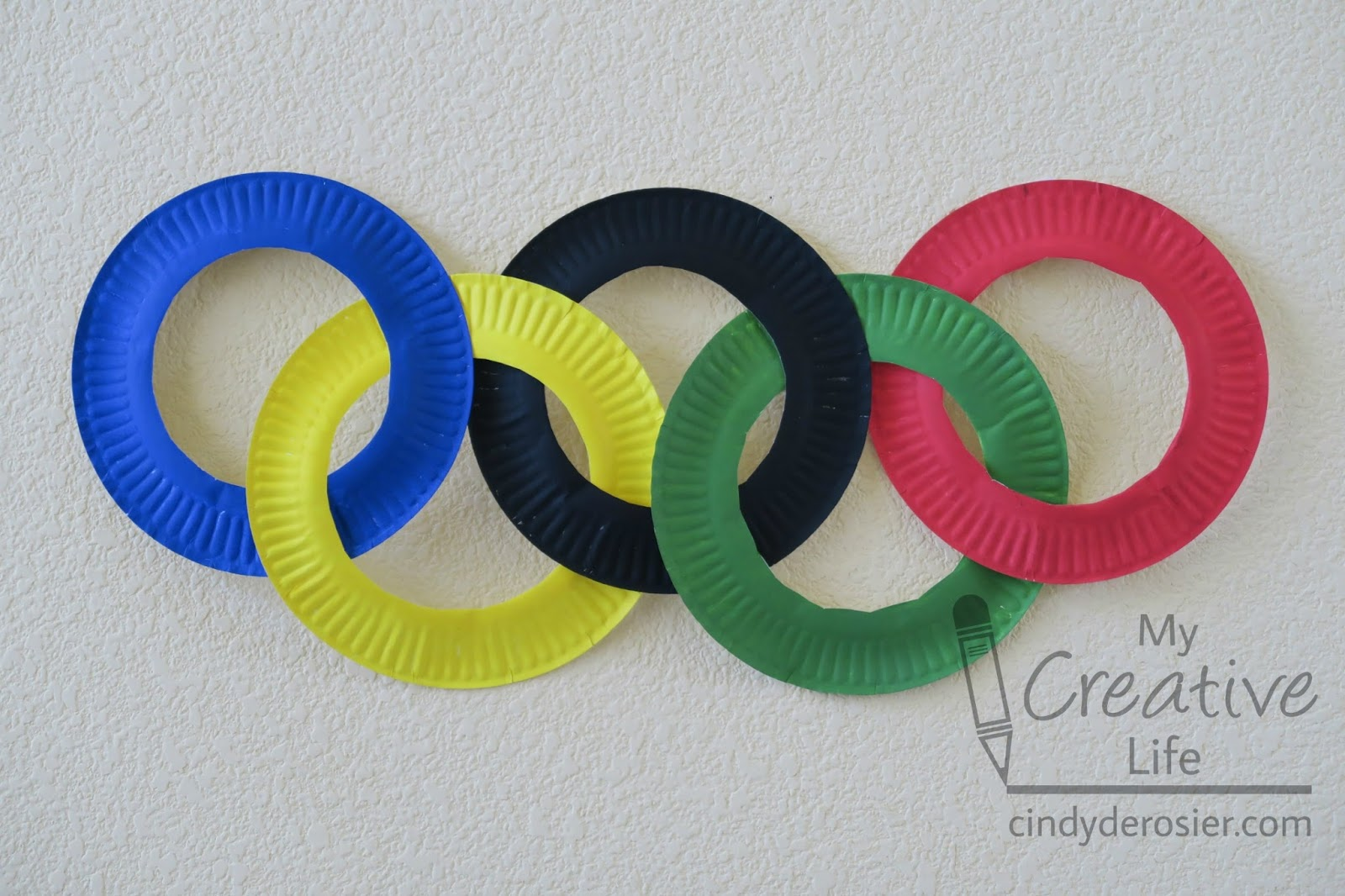 cindy derosier my creative life paper plate olympic rings