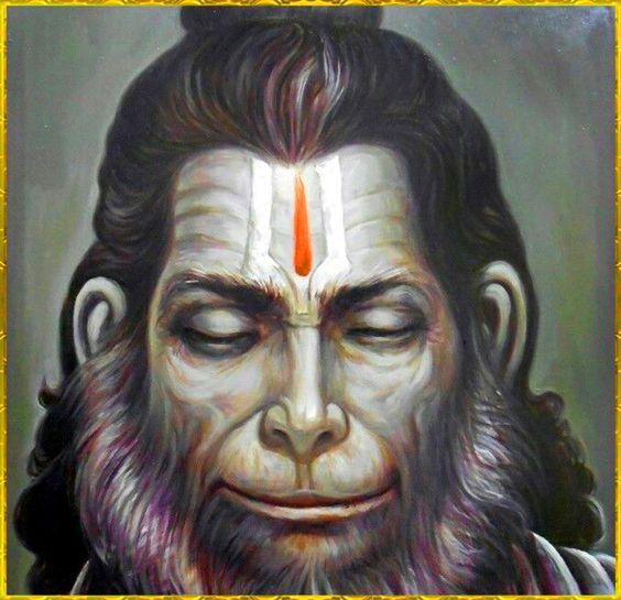 Hanuman's Power Over Evil Spirits