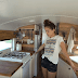 Couple Turns Bus Into Loft on Wheels