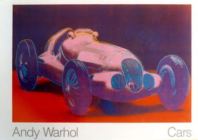 Cars by Andy Warhol (W125) Poster