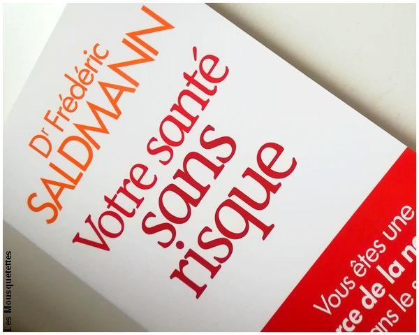 Votre santé sans risque, Dr Frédéric Saldmann - Livre - Blog beauté
