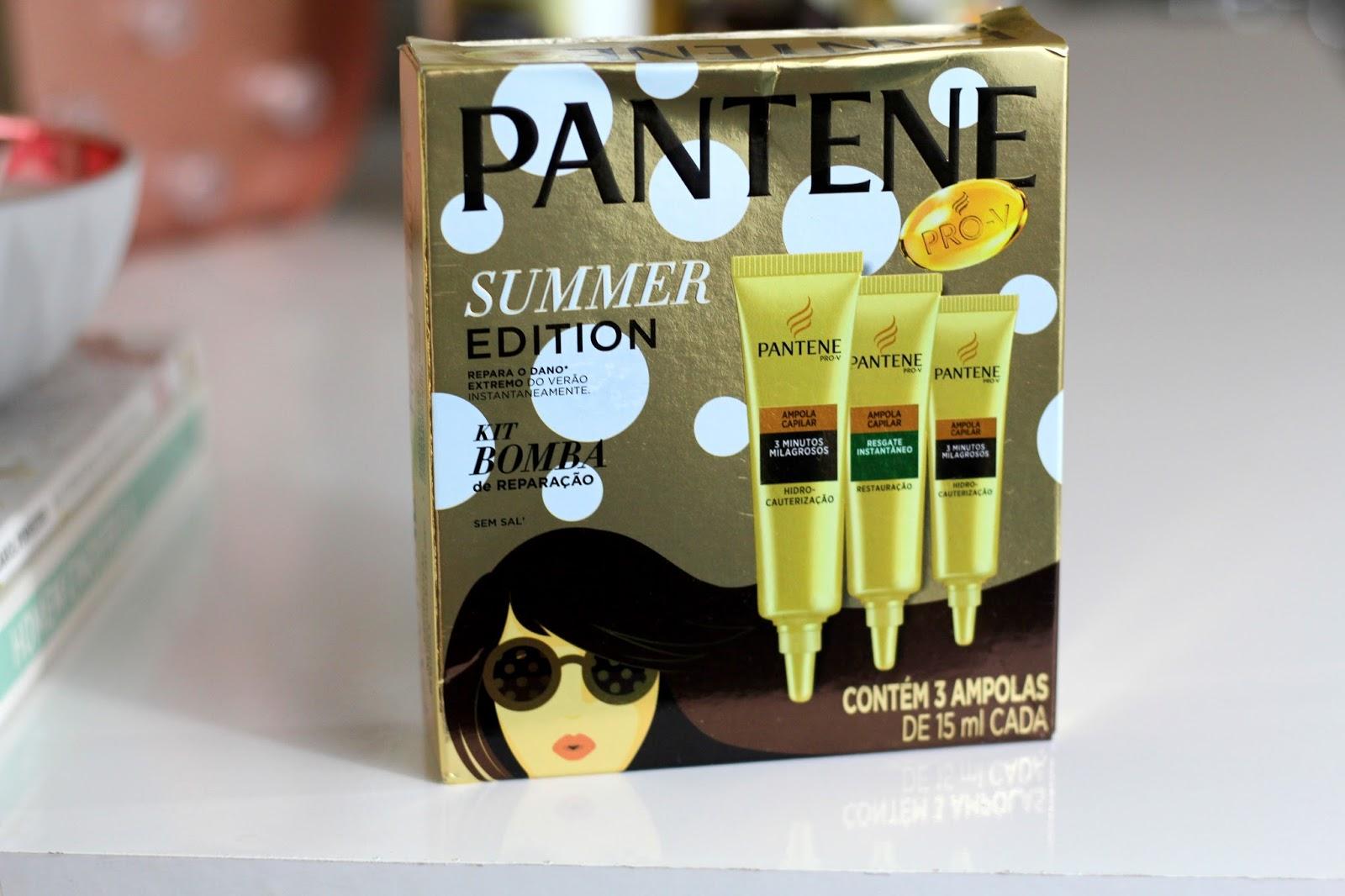 pantene summer edition verão cabelos ana do dia anadodia