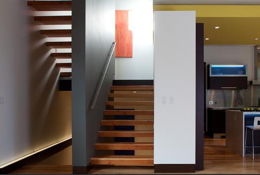 Fotos de escaleras modelos de pasamanos en madera - Fotos en escaleras ...