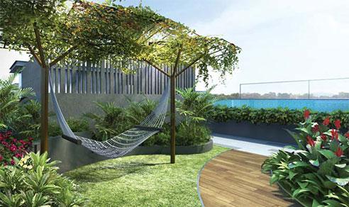 Sunnyvale Residences Hammock Sun Deck