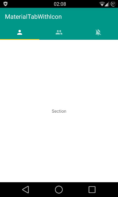 Material Tabs - Android Material Design Tab Library