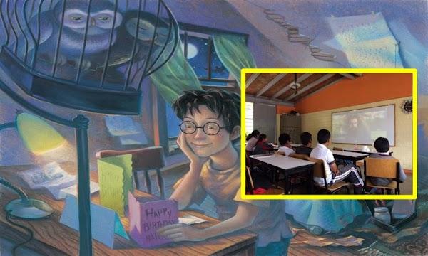 Maestra de Tlaxcala usa a Harry Potter para enseñar matemáticas e inglés