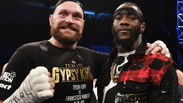 Fight Confirmed Between Deontay Wilder & Tyson Fury