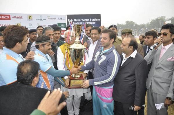 Nahar Singh Stadium Faridabad, Haryana