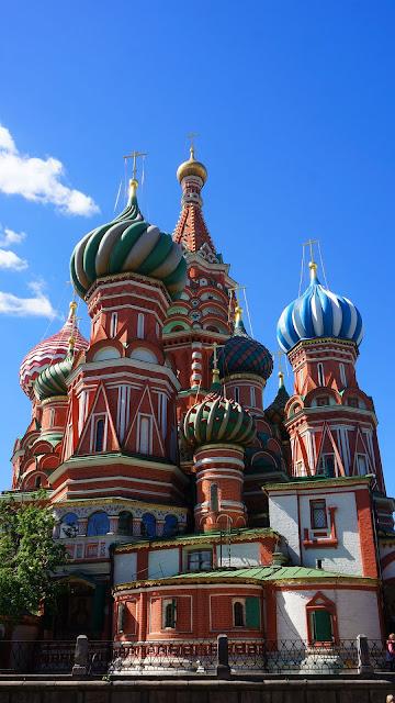 На фото - Москва. Красная площадь, Храм Василия Блаженного