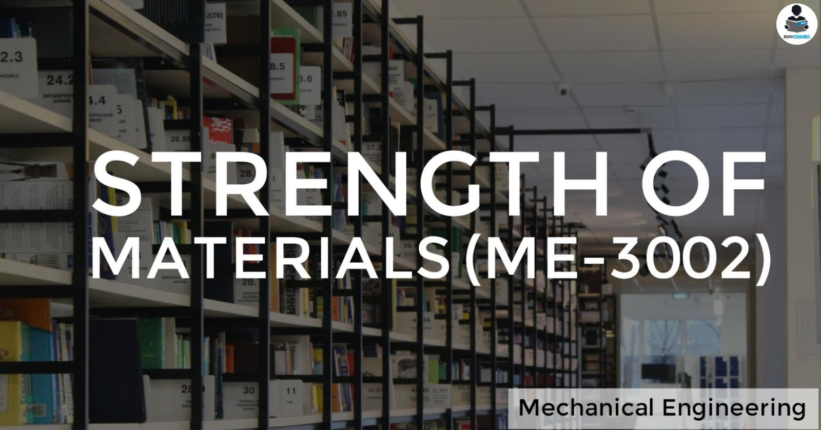ME3002 - Strength of materials - RGPV notes CBGS