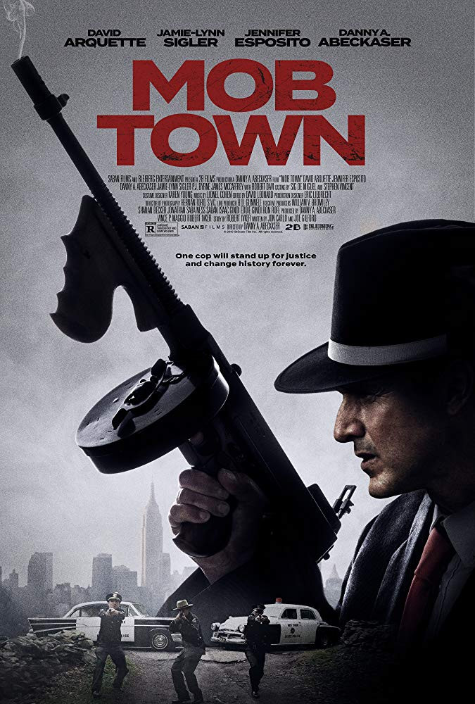 Mob Town 2019 English 900MB HDRip ESub Download