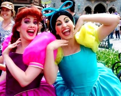 Hermanastras de la Cenicienta de Disney