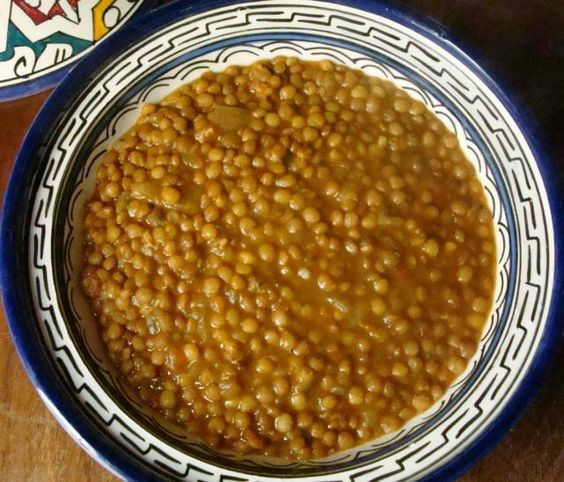 """Fakes"" Greek lentil soup"