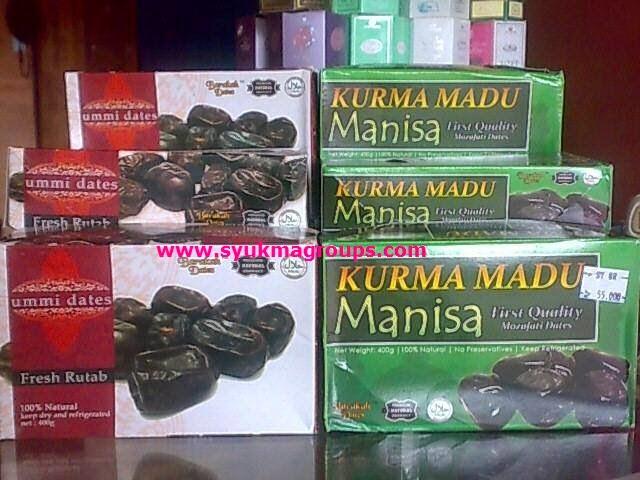 Kurma Madu Manisa dan Ummi Dates - Premium Natural Product