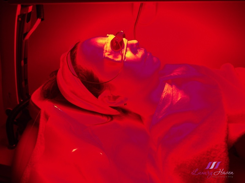 eha skincare omega light red led therapy