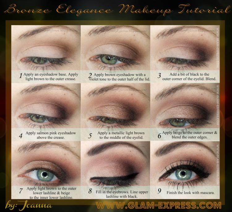 Ferrou Makeup Blog Makijaż Kosmetyki Elegancki Brąz Makijaż