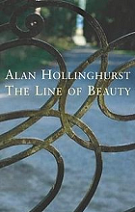 The Line of Beauty by Alan Hollinghurst book cover