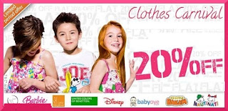 [Hurry!!] Flat 20% Discount on Entire range of Kids Apparels @ Babyoye (Valid for 2 Days)