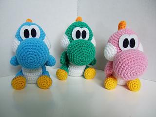 Yarn Yoshi Amigurumi [CROCHET FREE PATTERNS | Crochet toys free ... | 240x320
