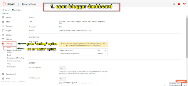 Bigrock,Domain,Bigrock domain,blogger,setup domain to blogger