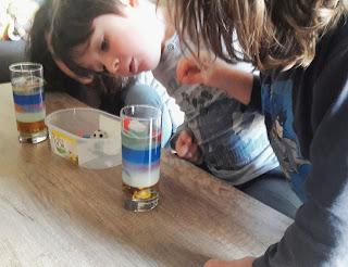 comment réaliser expérience facile avec enfants tutoriel pas à pas avec objets du placard