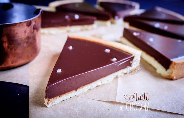 recette tarte au chocolat facile