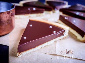 Tarte au chocolat facile
