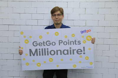 GetGo promo winner unlocks exciting free travels with 1 Million GetGo Points