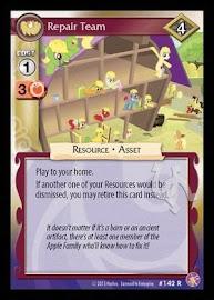 My Little Pony Repair Team Absolute Discord CCG Card